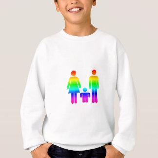 Sweatshirt Famille d'arc-en-ciel