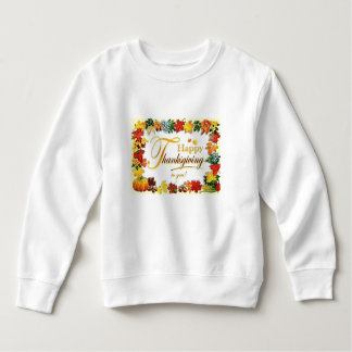 Sweatshirt Feuille coloré de bon thanksgiving vintage