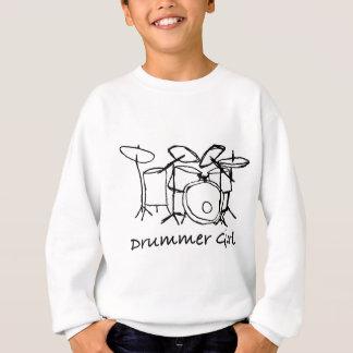 Sweatshirt Fille de batteur