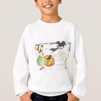 Sweatshirt Fille de bougie de corneille de fantôme de
