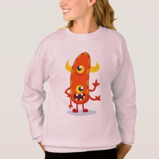 Sweatshirt Fille Monstre