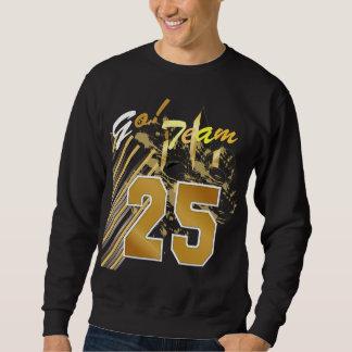 Sweatshirt Fleur de Lis, texte personnalisable