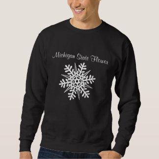 Sweatshirt Fleur d'État du Michigan