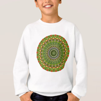 Sweatshirt Fleur-Mandala, fleur sauvage