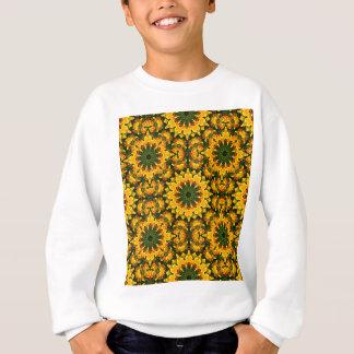 Sweatshirt Fleur-Mandala, pavots de Californie