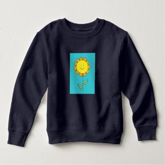 Sweatshirt Fleur mignonne