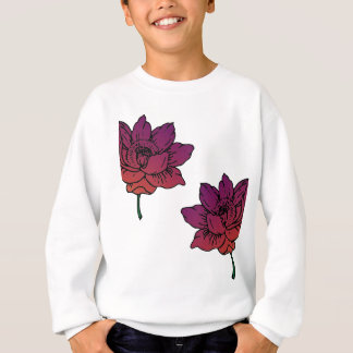 Sweatshirt Fleurs