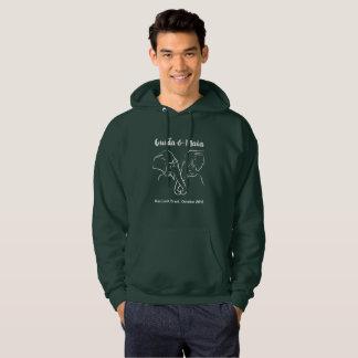 Sweatshirt foncé original avec Maia et Guida