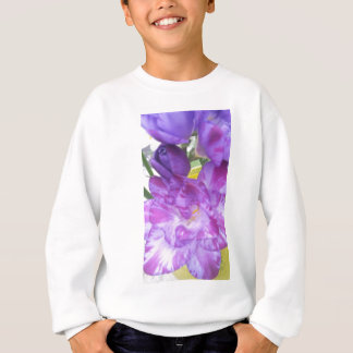 Sweatshirt Freesia pourpre