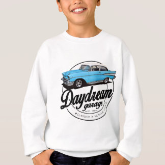 Sweatshirt Garage de rêverie avec le Bel Air 1957 de