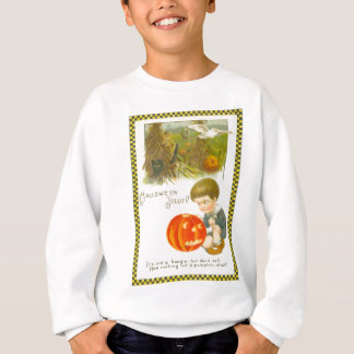 Sweatshirt Garçon mignon de Jack-o'-lantern de citrouille de