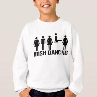 Sweatshirt Garçons et filles de danse d'Irlandais