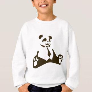 Sweatshirt Geek de panda