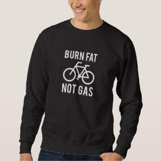 Sweatshirt graisse de brûlure, pas gaz