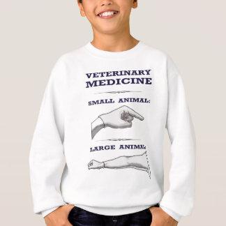 Sweatshirt Grand et petit humoristique vétérinaire animal