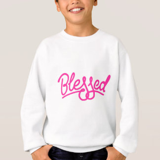 Sweatshirt Habillement béni par rose