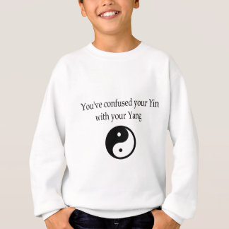 Sweatshirt Habillement de Yin/Yang, version 2