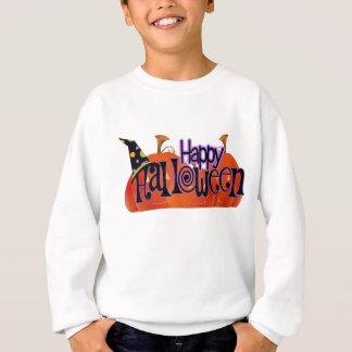 Sweatshirt Halloween avec la ligne des citrouilles