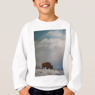 Sweatshirt Haute sur une colline venteuse