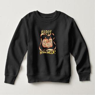Sweatshirt heureux de citrouilles de Halloween