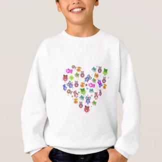 Sweatshirt Hiboux d'amour