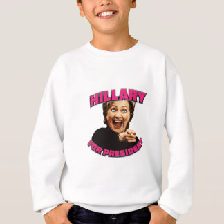 Sweatshirt hillary pour le président