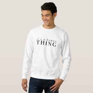 Sweatshirt Humain