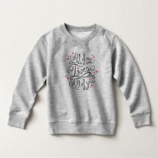 Sweatshirt inspiré lunatique de la citation |