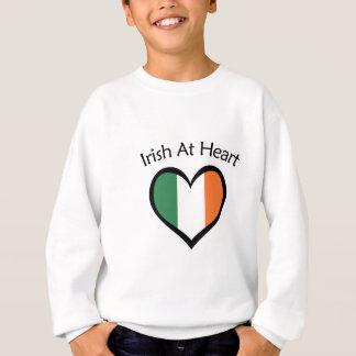 Sweatshirt Irlandais au coeur