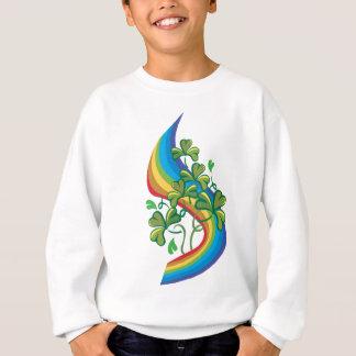 Sweatshirt irlandais d'arc-en-ciel