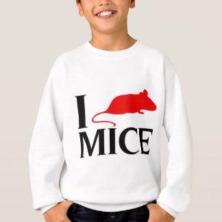 Sweatshirt J'aime des souris