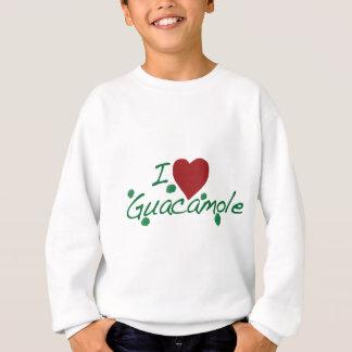 Sweatshirt j'aime le guacamole