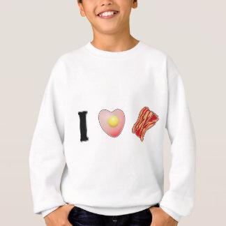 Sweatshirt J'aime le lard !
