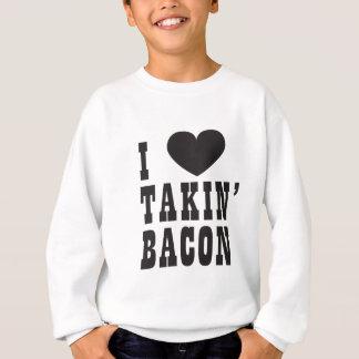 Sweatshirt J'aime le lard de Takin