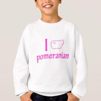 Sweatshirt J'aime Pomeranian