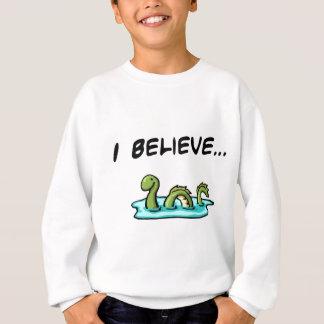 Sweatshirt Je crois en monstre de Loch Ness