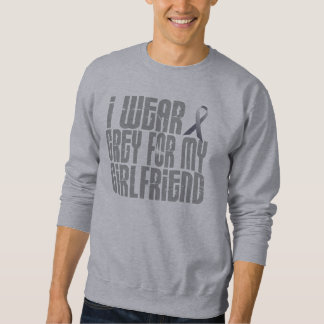 Sweatshirt Je porte le gris pour mon amie 16