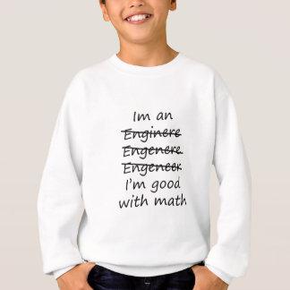Sweatshirt je suis un ingénieur