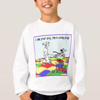 Sweatshirt Je suis votre chien C&BMINEpurple