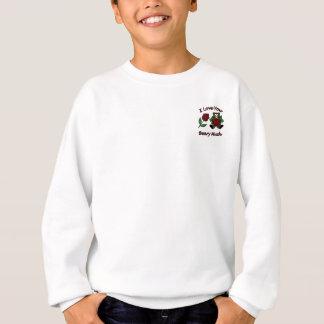 Sweatshirt Je t'aime Beary beaucoup de nounours avec le coeur