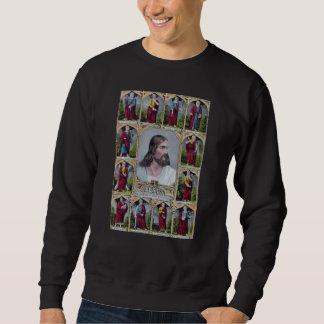 Sweatshirt Jésus et les 12 apôtres