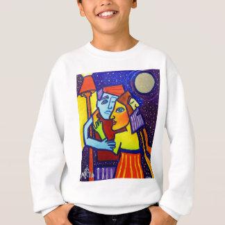 Sweatshirt Jeune amour par Piliero