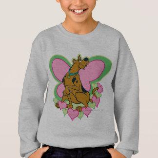 Sweatshirt Joli papillon Scooby de Scooby
