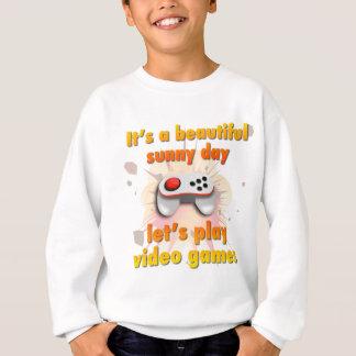 Sweatshirt Jouons les jeux vidéo