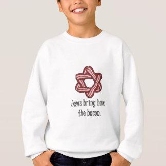 Sweatshirt Juifs et lard