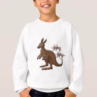 Sweatshirt Kangourou et kangourou de bébé dans des