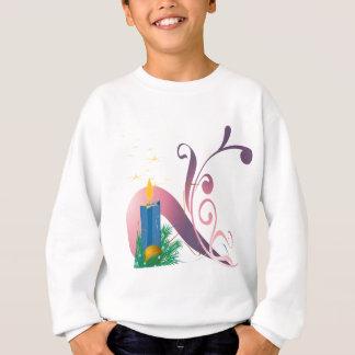 Sweatshirt La bougie de Noël