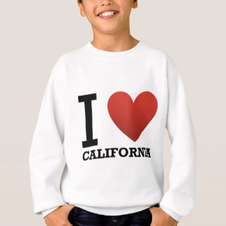 Sweatshirt la je-amour-Californie