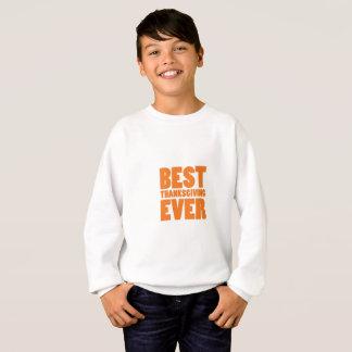 Sweatshirt La meilleure chemise de cadeau de thanksgiving