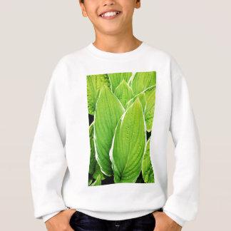 Sweatshirt La nature verte pousse des feuilles les arbres